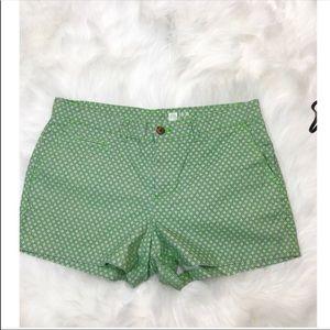 Gap Green and Navy Shorts